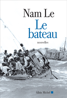 The Boat - Le Bateau (French cover) (Albin Michel)